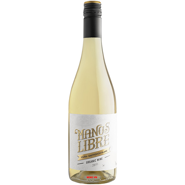 Rượu Vang Manos Libre Viura Sauvignon Blanc Organic