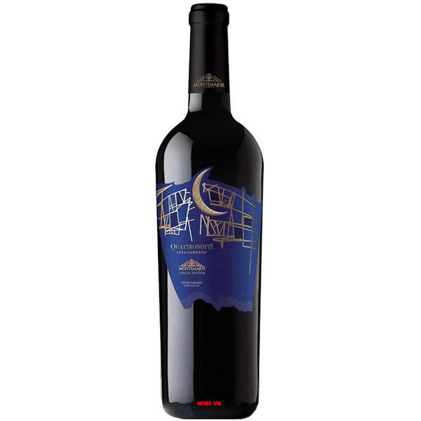 Rượu Vang Montemajor Quattronotti Appassimento