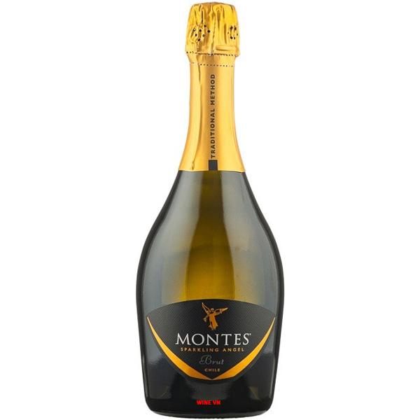 Rượu Vang Montes Sparkling Angel Brut