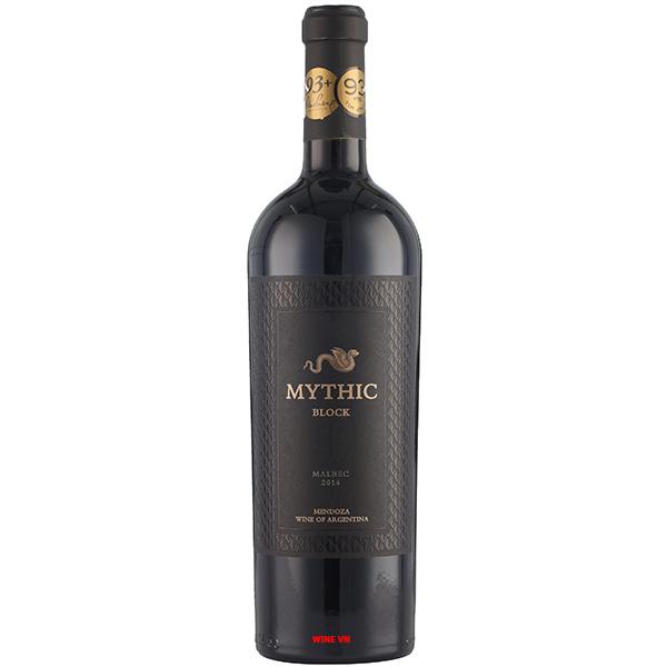 Rượu Vang Mythic Block Malbec