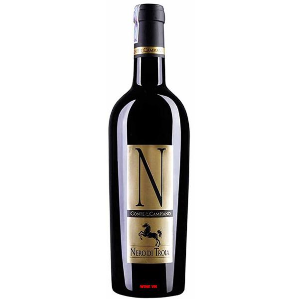 Rượu Vang N Nero Di Troia Conte Di Campiano