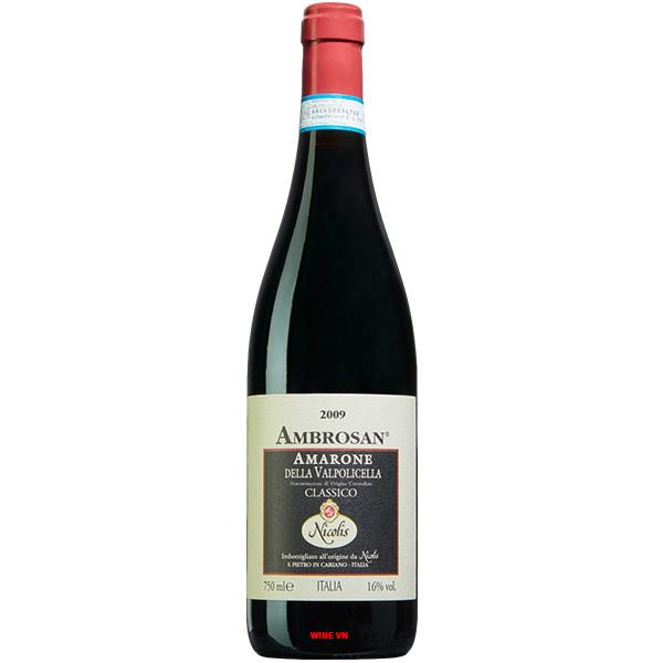 Rượu Vang Nicolis Ambrosan Amarone Della Valpolicella