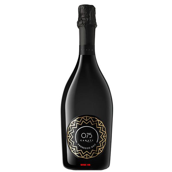 Rượu Vang Nổ 075 Carati Prosecco Doc