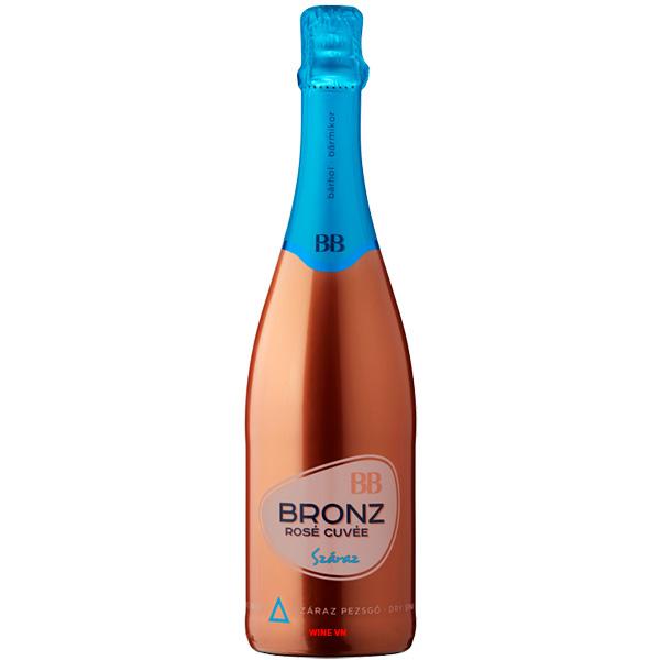 Rượu Vang Nổ BB Bronz Rose Cuvee