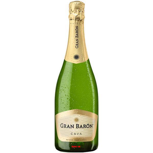 Rượu Vang Nổ Gran Baron Cava Semi Seco