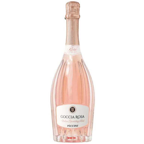 Rượu Vang Nổ Piccini Goccia Rosa Rose