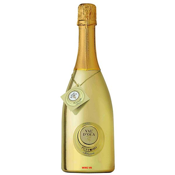 Rượu Vang Nổ Punto Oro Val D'oca
