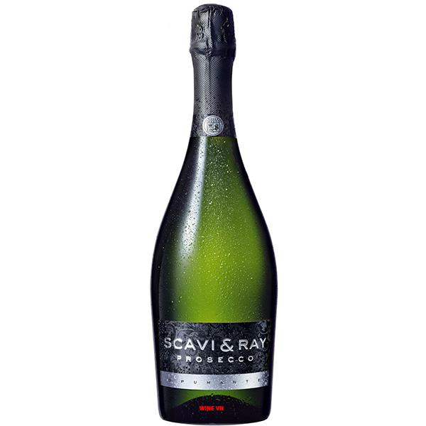 Rượu Vang Nổ Scavi & Ray Prosecco Frizzante