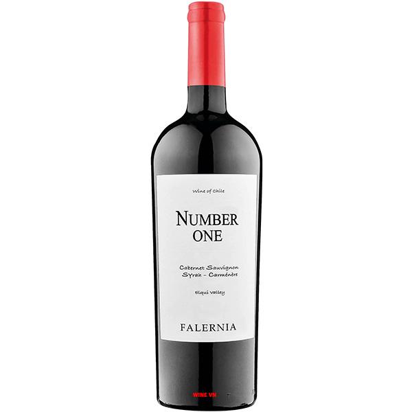 Rượu Vang Number One Falernia