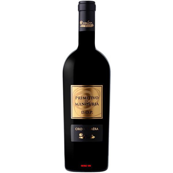 Rượu Vang Oro Di Emera Primitivo Di Manduria