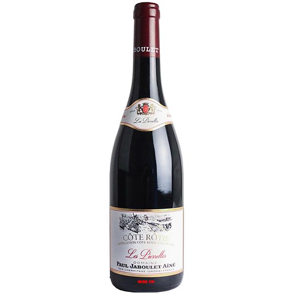 Rượu Vang Paul Jaboulet Ainé Côte Rôtie Les Pierrelles