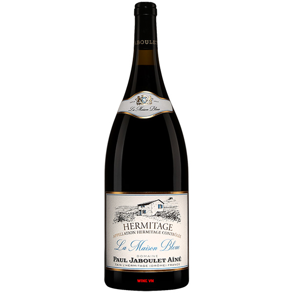 Rượu Vang Paul Jaboulet Aine Hermitage La Maison Bleue