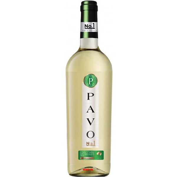 Rượu Vang Pavo No 1 Chardonnay