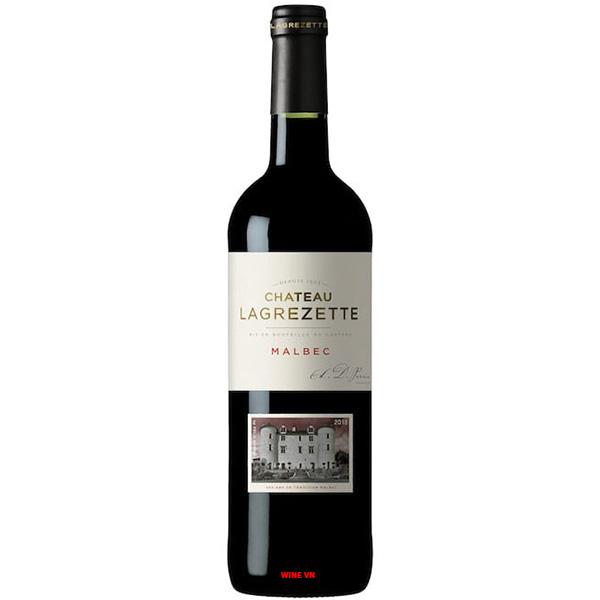 Rượu Vang Pháp Chateau Lagrezette Malbec