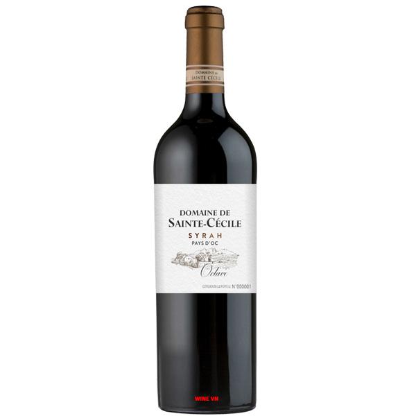 Rượu Vang Pháp Domaine De Sainte Cecile Syrah