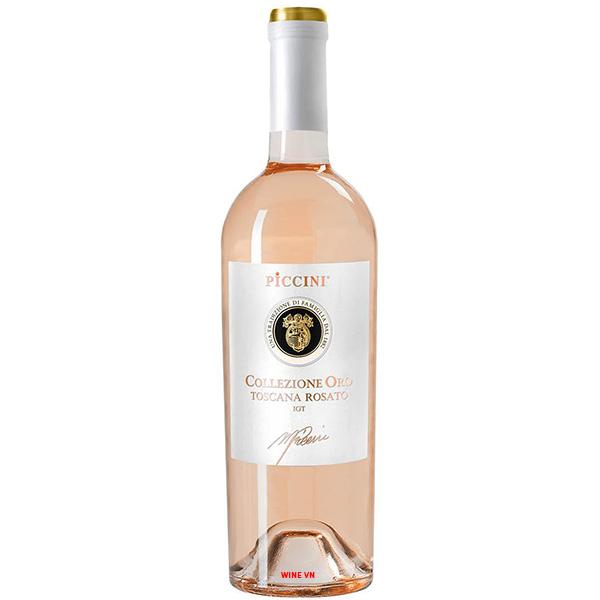 Rượu Vang Piccini Collezione Oro Toscana Rosato
