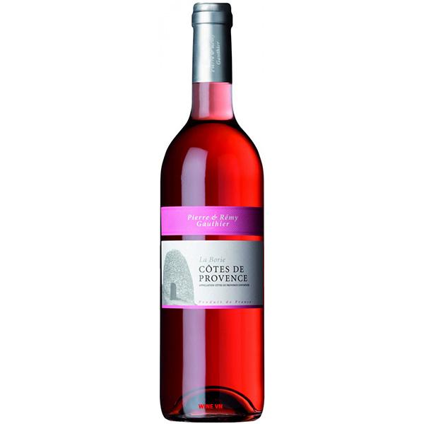 Rượu Vang Pierre & Remy Gauthier La Borie Cotes De Provence Rose