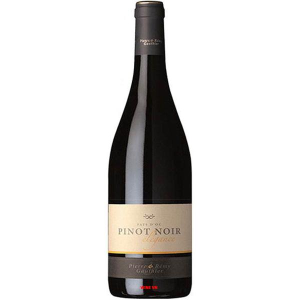Rượu Vang Pierre & Remy Gauthier Pinot Noir Elegance
