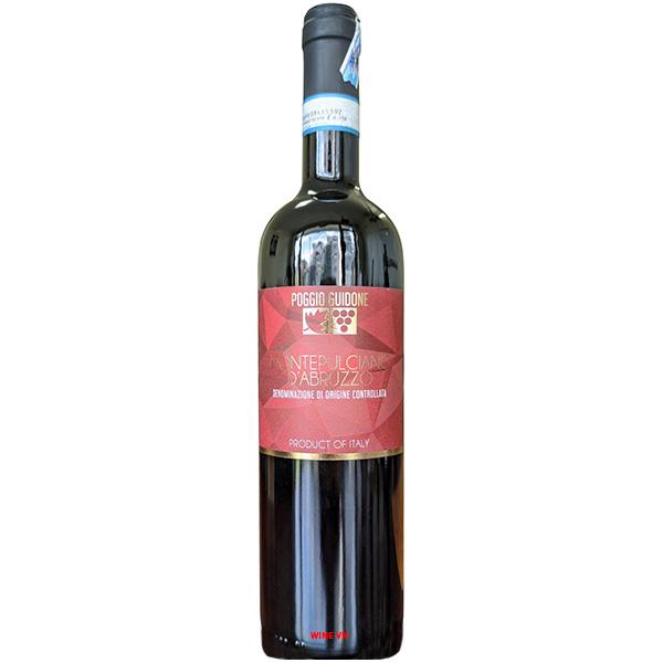 Rượu Vang Poggio Guidone Montepulciano D'Abruzzo