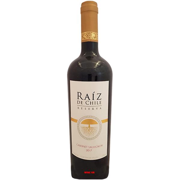 Rượu Vang Raiz De Chile Reserva Cabernet Sauvignon