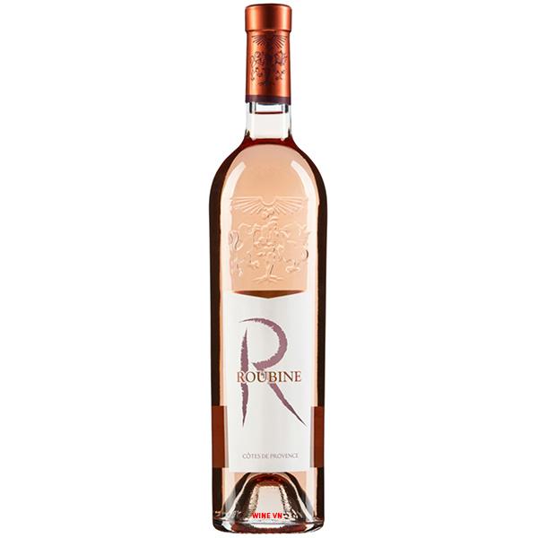 Rượu Vang Roubine R Rose