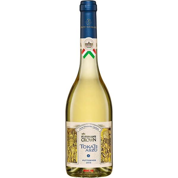Rượu Vang ST Stephan's Crown Tokaji Aszú 5 Puttonyos