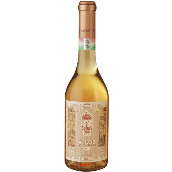 Rượu Vang ST Stephan's Crown Tokaji Szamorodni 3 Puttonyos