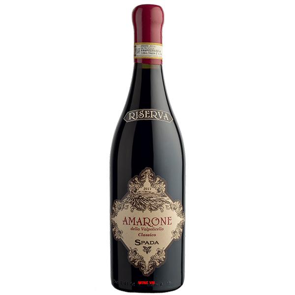 Rượu Vang Spada Amarone Della Valpolicella Riserva