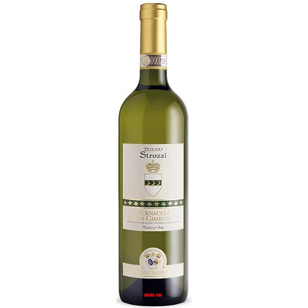 Rượu Vang Strozzi Vernaccia Di San Gimignano