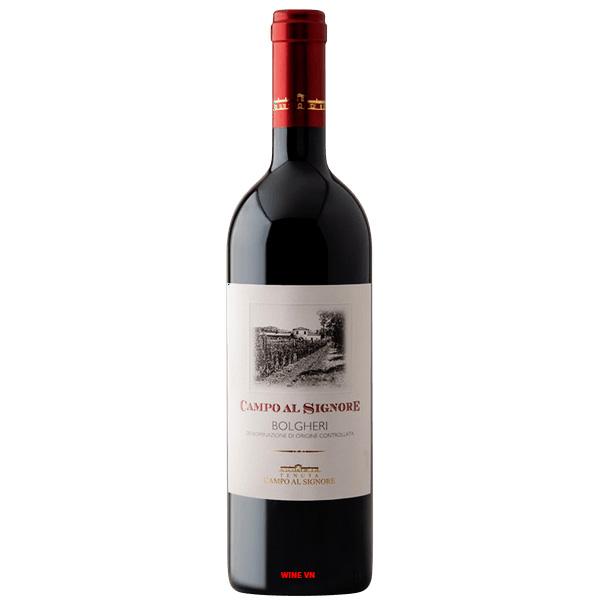 Rượu Vang Tenuta Campo Al Signore Bolgheri