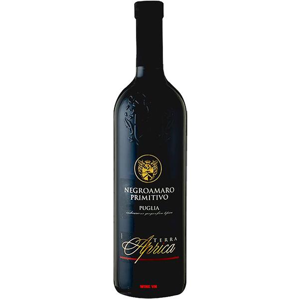 Rượu Vang Terra Aprica Negroamaro - Primitivo