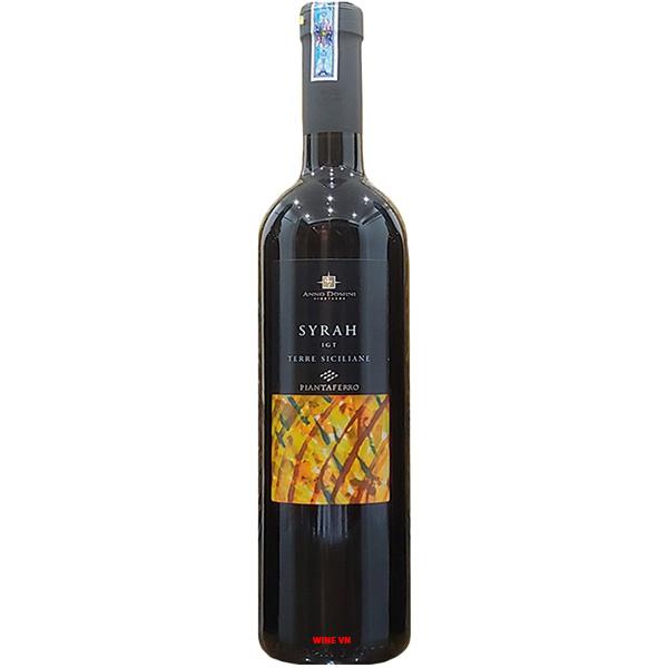 Rượu Vang Terre Siciliane Syrah