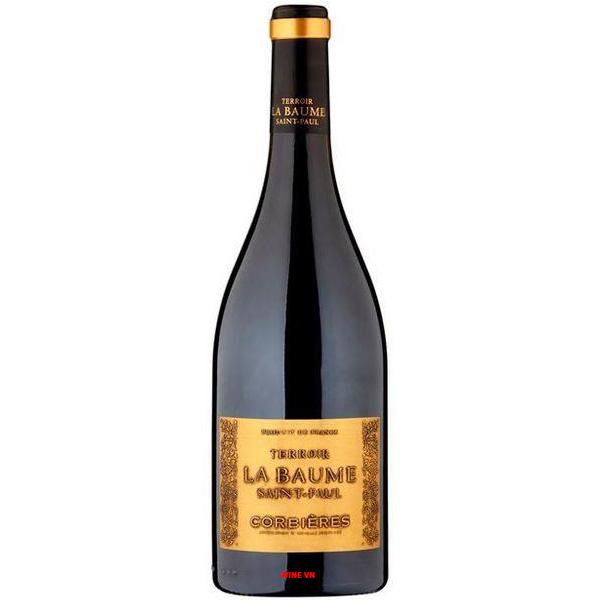Rượu Vang Terroir La Baume Saint Paul Corbieres