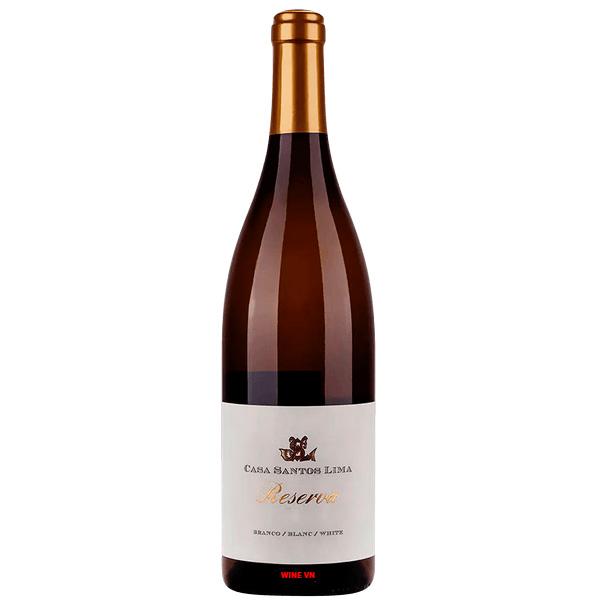 Rượu Vang Trắng Casa Santos Lima Reserva