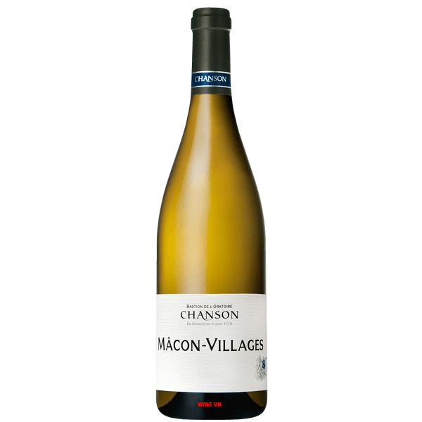 Rượu Vang Trắng Chanson Macon Villages