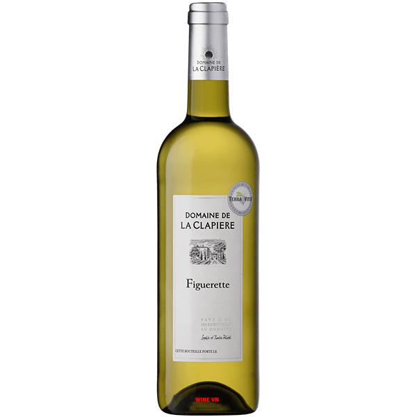 Rượu Vang Trắng Domaine De La Clapiere Figurette