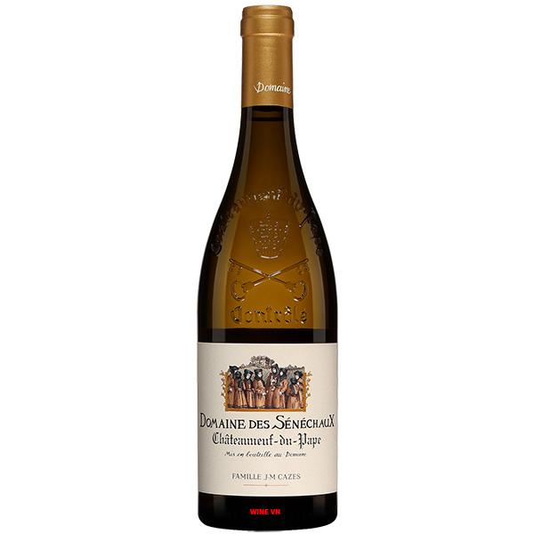 Rượu Vang Trắng Domaine Des Senechaux Châteauneuf Du Pape