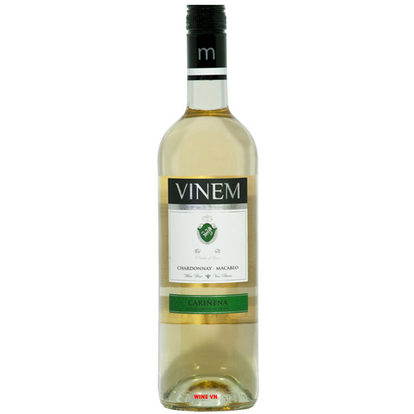 Rượu Vang Trắng Vinem Chardonnay - Macabeo