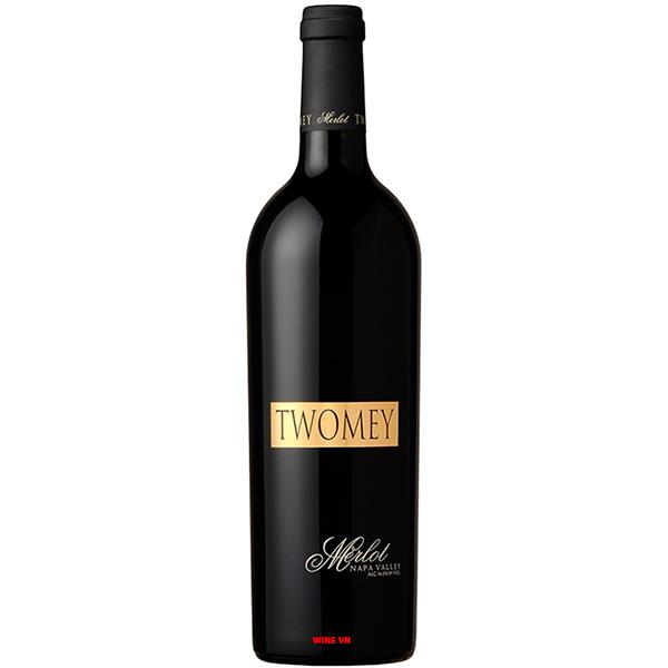 Rượu Vang Twomey Soda Canyon Ranch Merlot