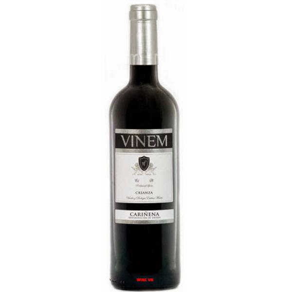 Rượu Vang Vinem Crianza Carinena
