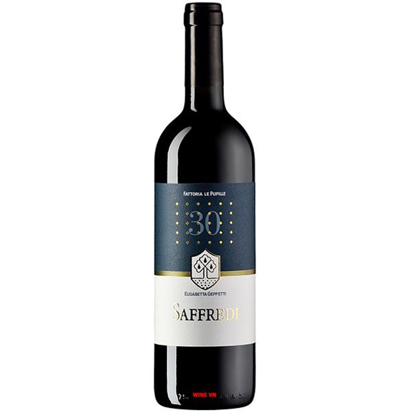 Rượu Vang Ý Fattoria Le Pupille Saffredi