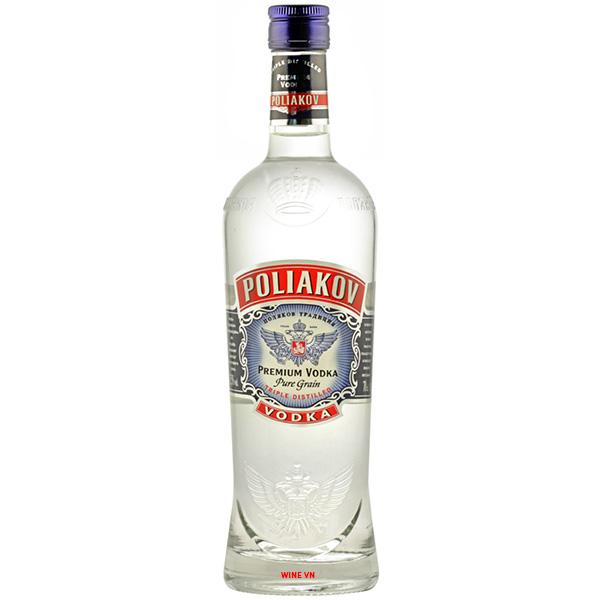 Rượu Vodka Poliakov Classic Premium