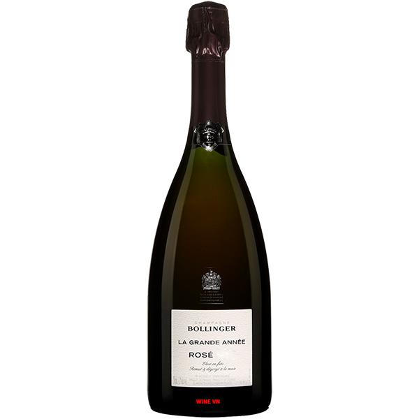 Rượu Champagne Bollinger La Grande Année Rose