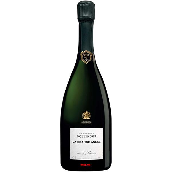 Rượu Champagne Bollinger La Grande Année