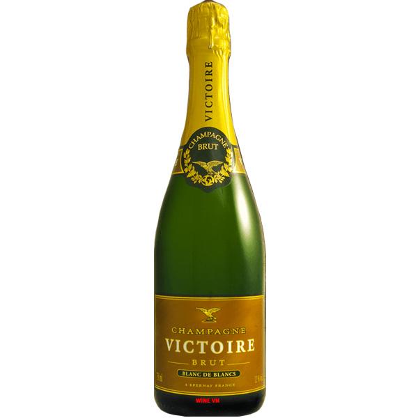 Rượu Champagne Victoire Blanc De Blancs