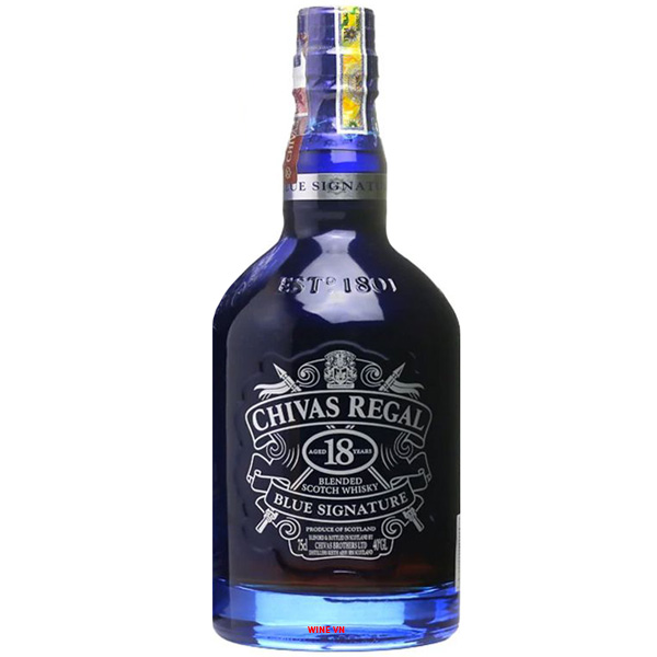 Rượu Chivas Regal 18 Years Blue