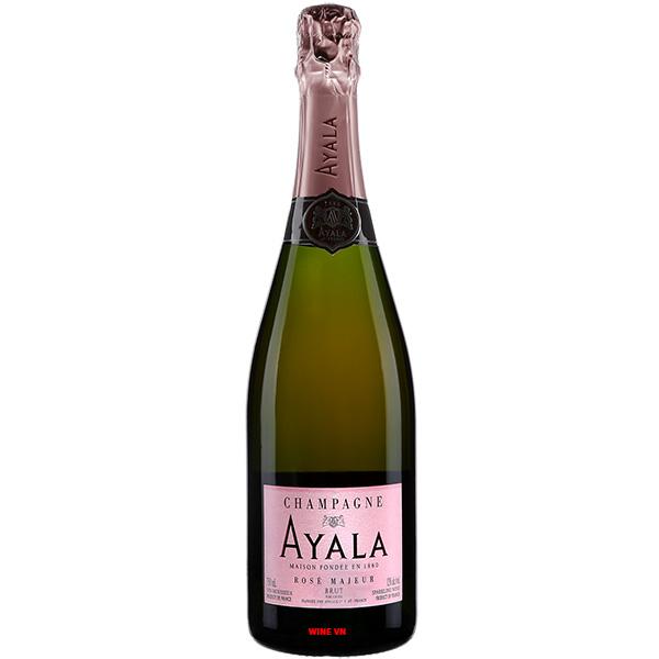 Rượu Sâm Banh Ayala Rose Majeur