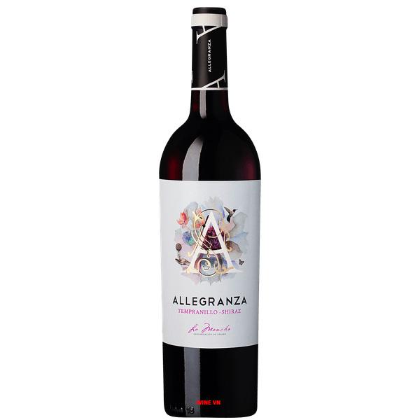 Rượu Vang Allegranza Tempranillo - Shiraz