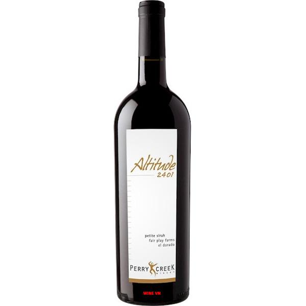 Rượu Vang Altitude 2401 Petite Syrah