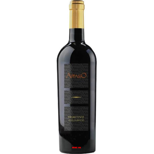 Rượu Vang Appasso Primitivo Aglianico